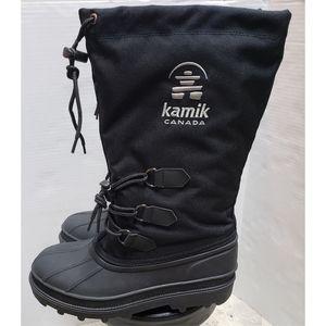 Kamik Canada Snow Black Tall Boots Sz. 8